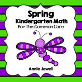 Spring Kindergarten Math Activities and Worksheets for the