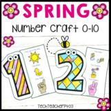 Spring Math Number Craft Activities