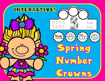 Spring Number Crowns 1-10