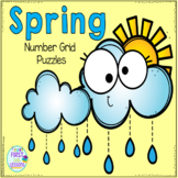 Spring Number Grid Puzzles
