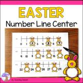 Spring Number Line Center