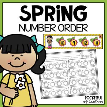 Spring Number Order 1-20