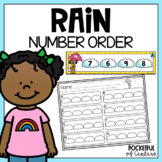 Rainy Weather Number Order 1-20
