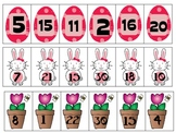 Spring Number Order Activity (0 to 30)
