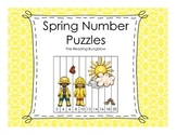 Spring Number Puzzles {Skip Counting by 2, 5 and 10}