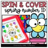 Spring Number Recognition Math Center