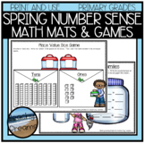 Spring Number Sense Activites and Dice Games