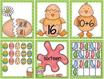 Spring Number Sense Cards