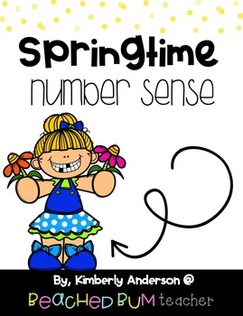 BUNDLE: Spring Number Sense Mental Math: Differentiated (3 Products)