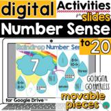 Number Sense Activity for Google Slides Spring Math DISTAN