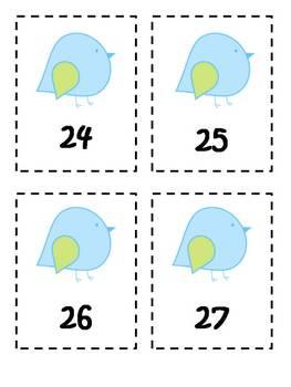 Spring Number Sequencing {FREEBIE}