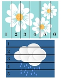 Spring Number Sequencing Puzzles