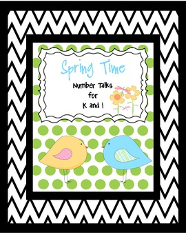 Spring Number Talks for Grades K-1