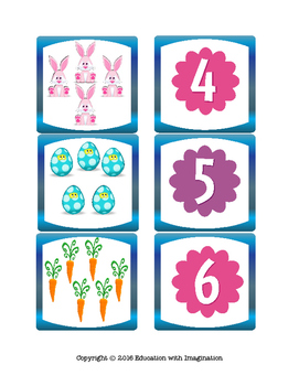 Spring Number Theme Story Bundle