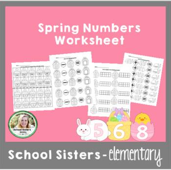 Spring Numbers 1 - 10