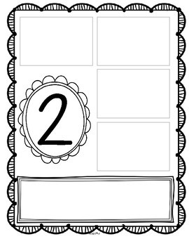 Spring Numbers 1-10 Make Your Own Anchor Charts