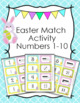 Spring Numbers 1-10 Match Activity Bundle
