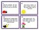 Spring One Step Story Problem Task Cards