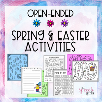 Spring Open-Ended Activities Bundle
