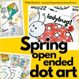 Spring Open Ended Dot Art