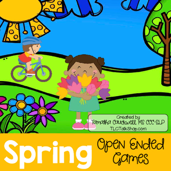Spring: Open-Ended Games