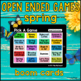 Spring Open Ended Games for ANY skill   Boom Cards™