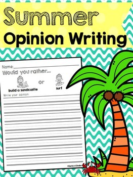 Summer Opinion Writing