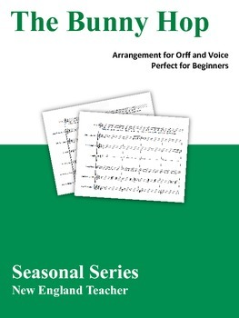 Spring Orff Bundle Arrangements for Beginner Orff and Voice
