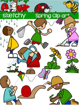 Spring Outdoor Clipart / Graphics