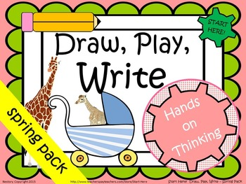 Draw, Play, Write! K-1 Spring Pack