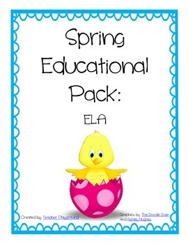 Spring Educational Pack: ELA