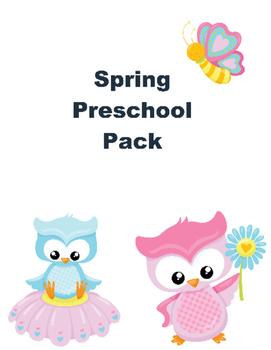 Spring Pack for Preschoolers