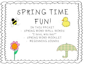 Spring Pack of Fun!
