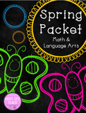 Spring Packet: Math and Language Arts