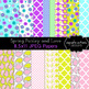 Spring Paisley Digital Clip Art and Digital Paper Collection