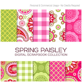 Spring Paisley Paper Collection - C00009