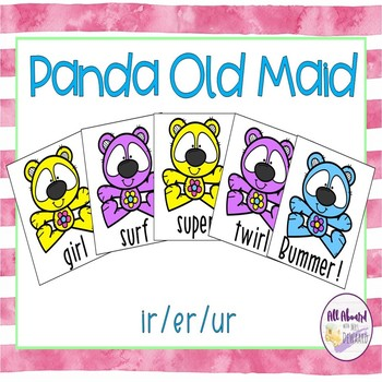 Spring Pandas Old Maid Bossy r