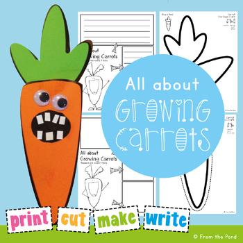 Spring Paper Craft - I Love Carrots