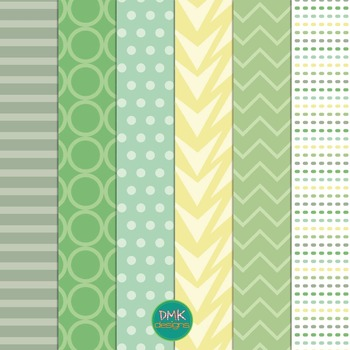 Digital Paper and Frame Set- Meadow