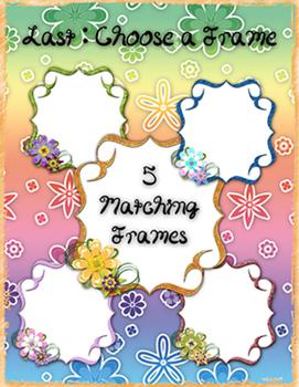 Spring Paper and Frame Bundle