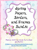 Spring Paper and Frame Bundle