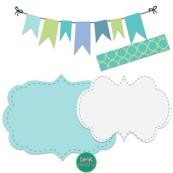 Spring Paper and Frame Freebie Set