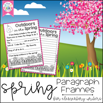 Spring Paragraph Frames