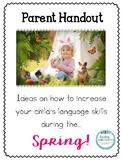 Spring Parent Handout
