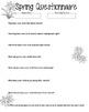 Spring Parent Questionnaire