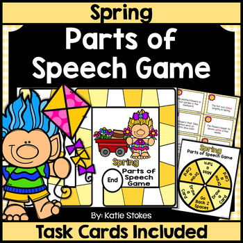 Spring Parts of Speech Game