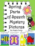 Spring Parts of Speech Mystery Pictures