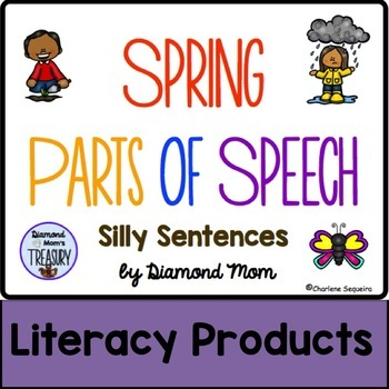 Spring Parts of Speech Silly Sentences