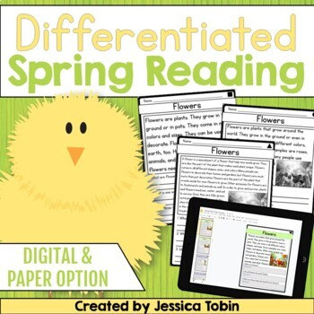 Spring Activities for Reading Comprehension