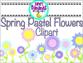 Spring Pastel Flower Clipart